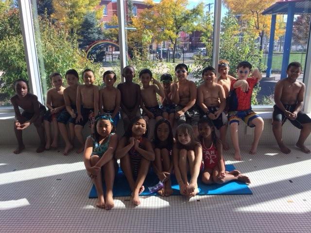Our grade three graduates of the swim to survive program - congratulations everyone!!